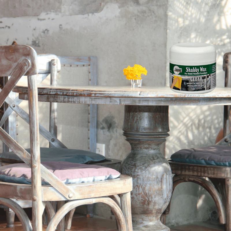 Shabby Finishing Wax For Chalk Paint Furniture