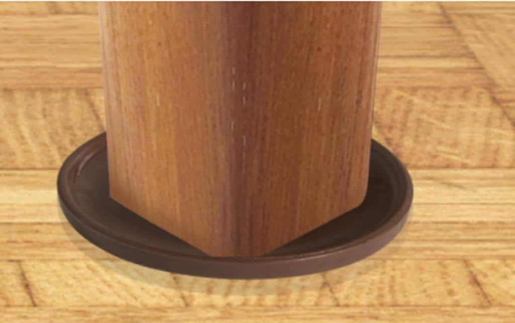 Slipstick Foot 45mm Round Non Slip Rubber Furniture