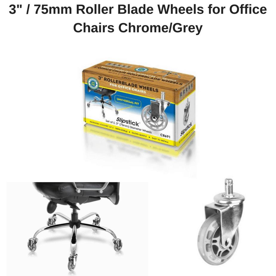Cb691 Slipstick 3inch 75mm Rubber Roller Blade Style