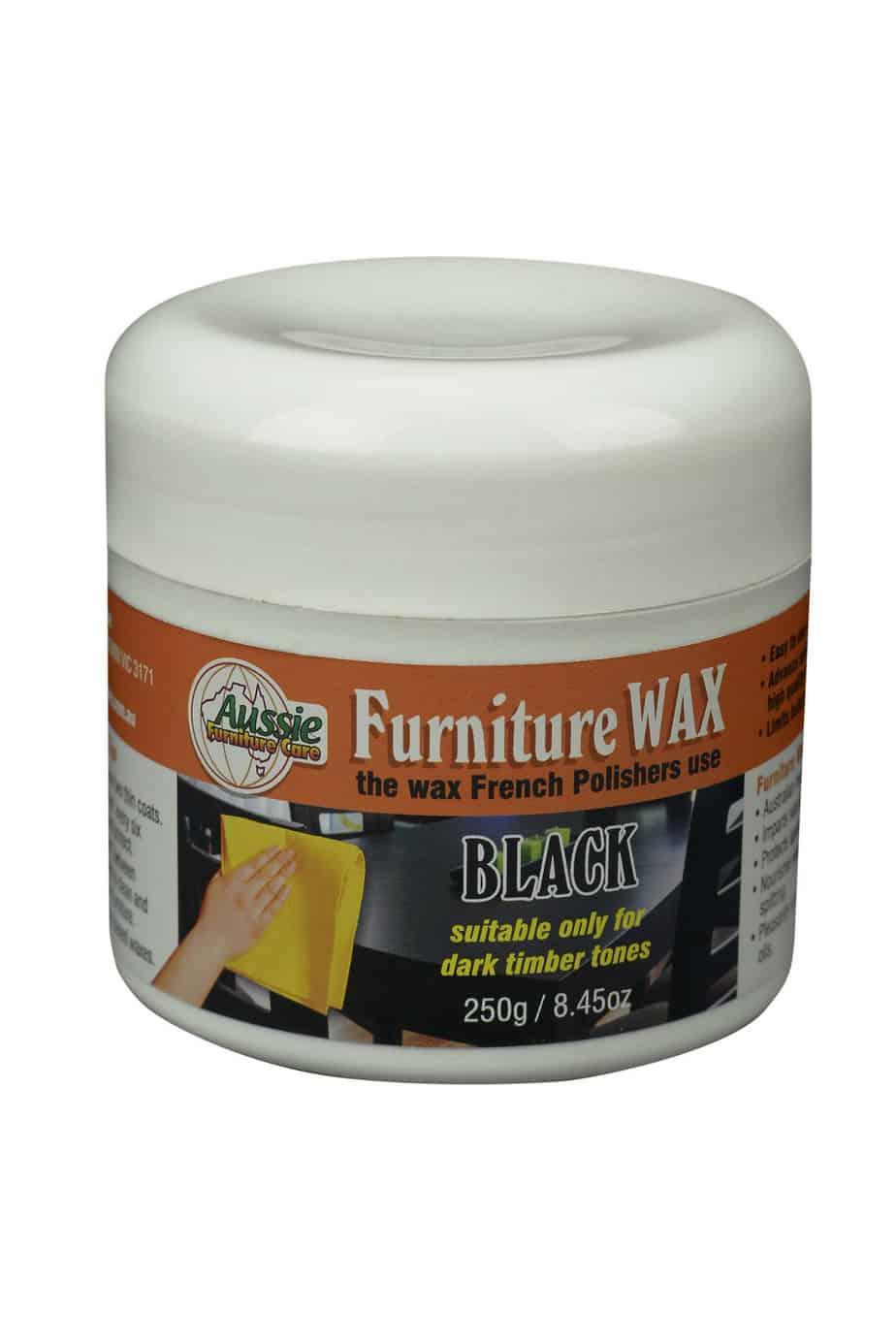 Furniture Wax Polish Paste 250gr Aussie Furniture Care
