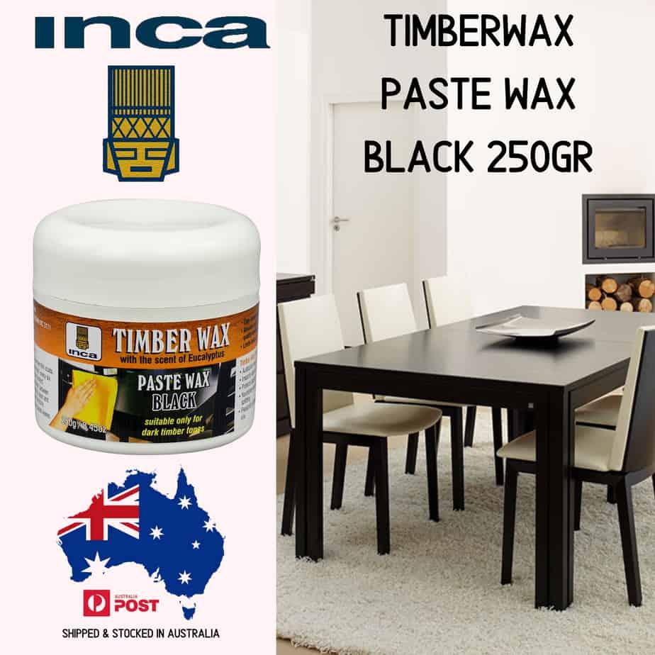 Inca™ Timberwax Paste Wax 250gram Black